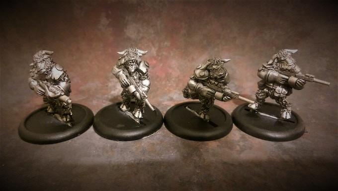 Beastmen Troopers Pack