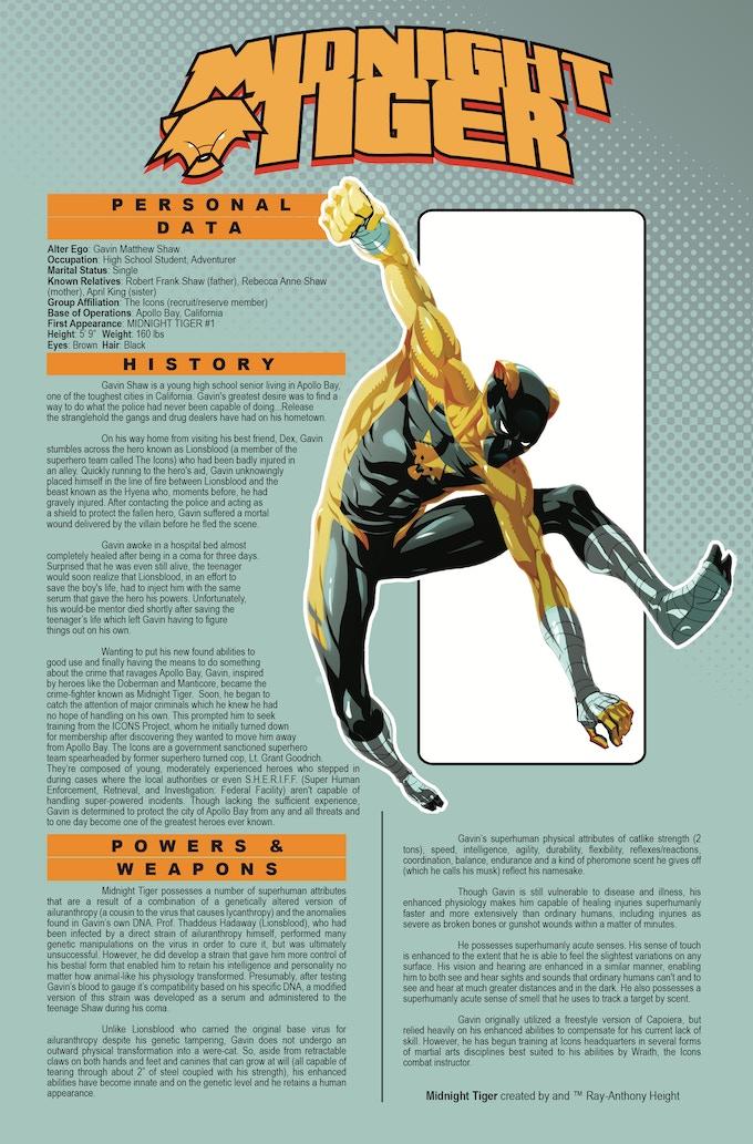 Midnight Tiger AV Sourcebook Entry