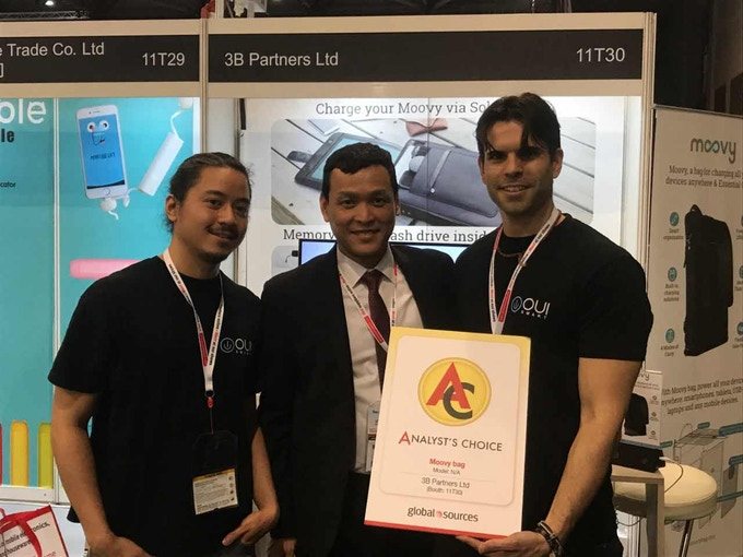 Analyst's Choice for innovative products at Hong Kong Electronics Fair