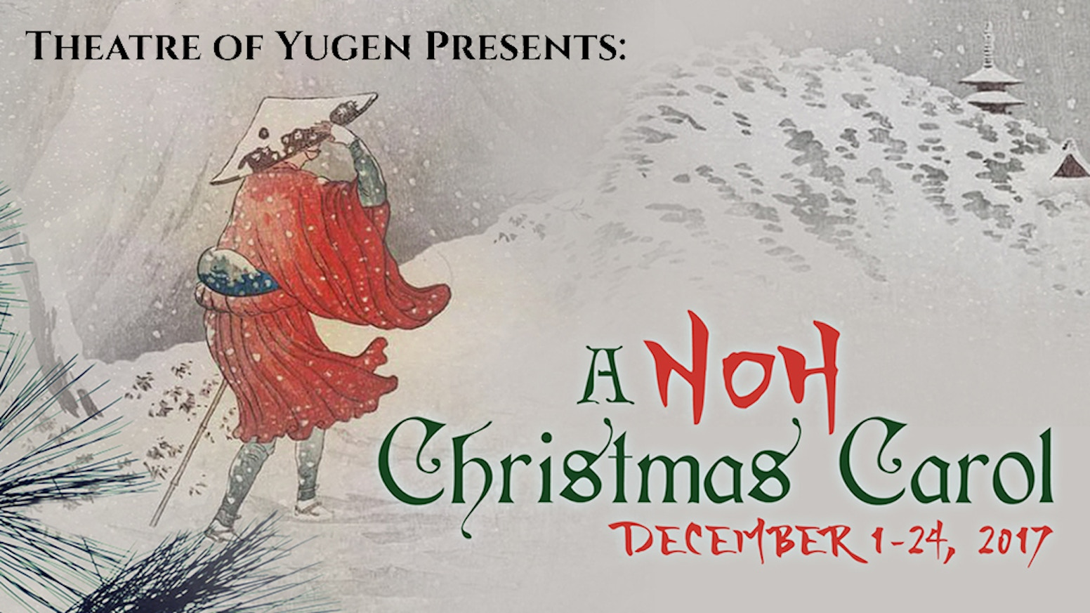 The Noh Christmas Carol by Theatre of Yugen — Kickstarter