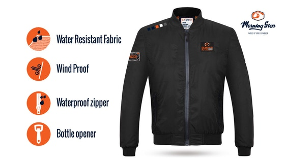 The All Around Water Resistant Bomber Jacket