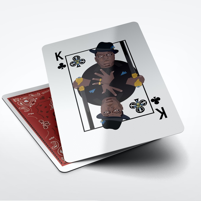 Biggie as King of Clubs