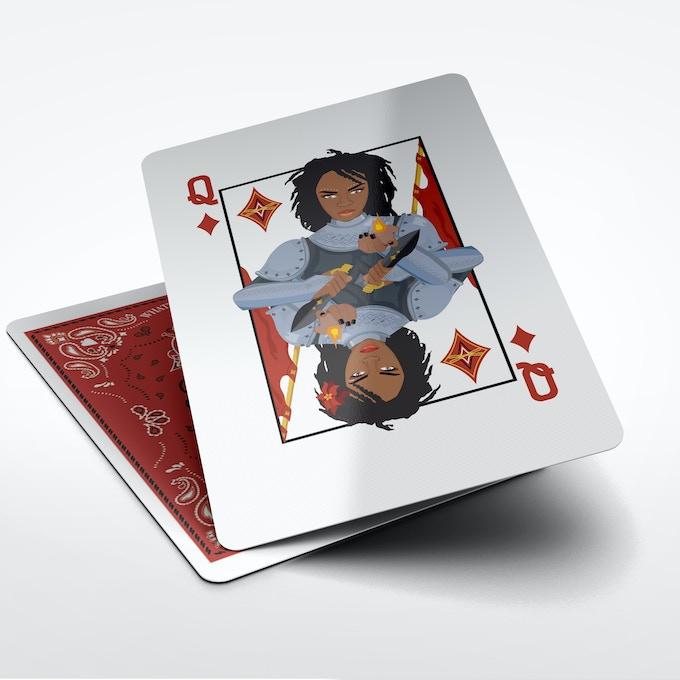 Lauryn Hill as Queen of Diamonds