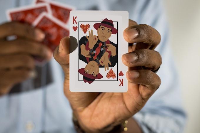 Jay Z as King of Hearts