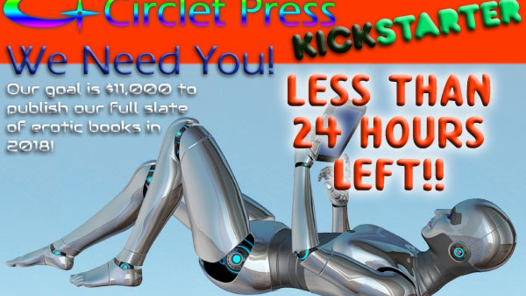 """Circlet Press 25th Anniversary """"Best Erotic SciFi"""" Anthology project video thumbnail"""