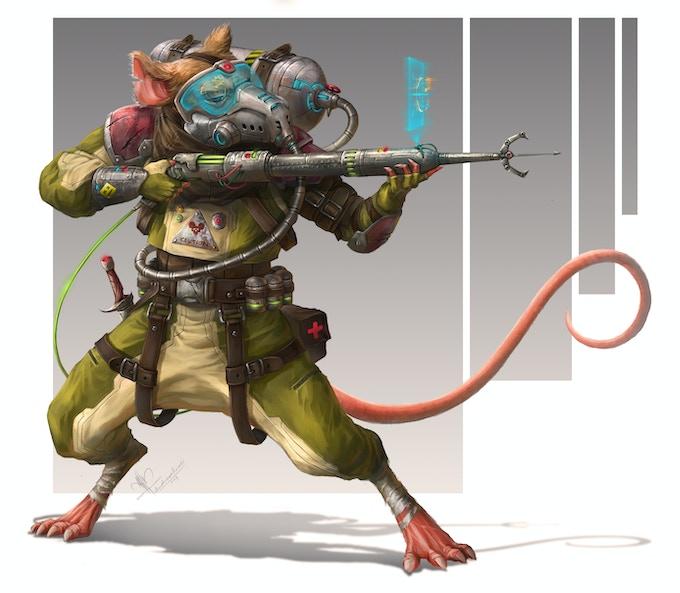 Ysoki Rogue, by Arrahman Rendi