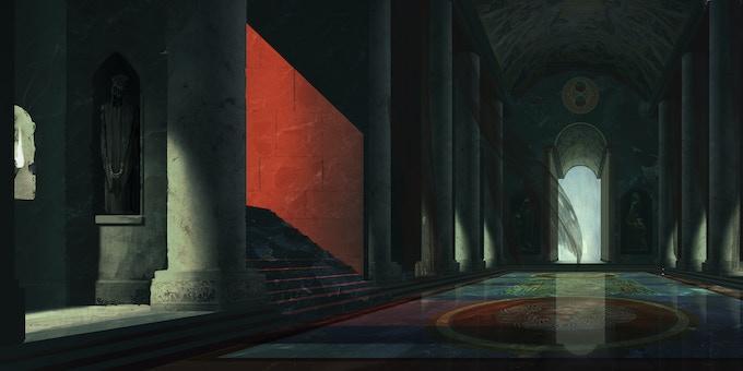 World 3, environment - Concept