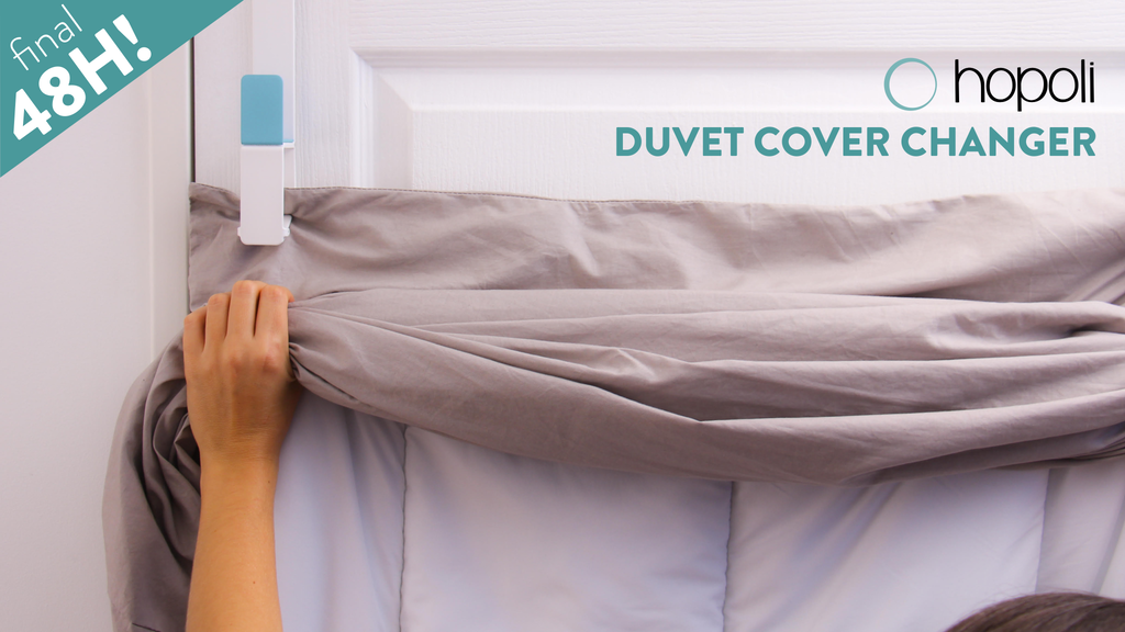 Hopoli: Change your duvet cover in seconds! project video thumbnail