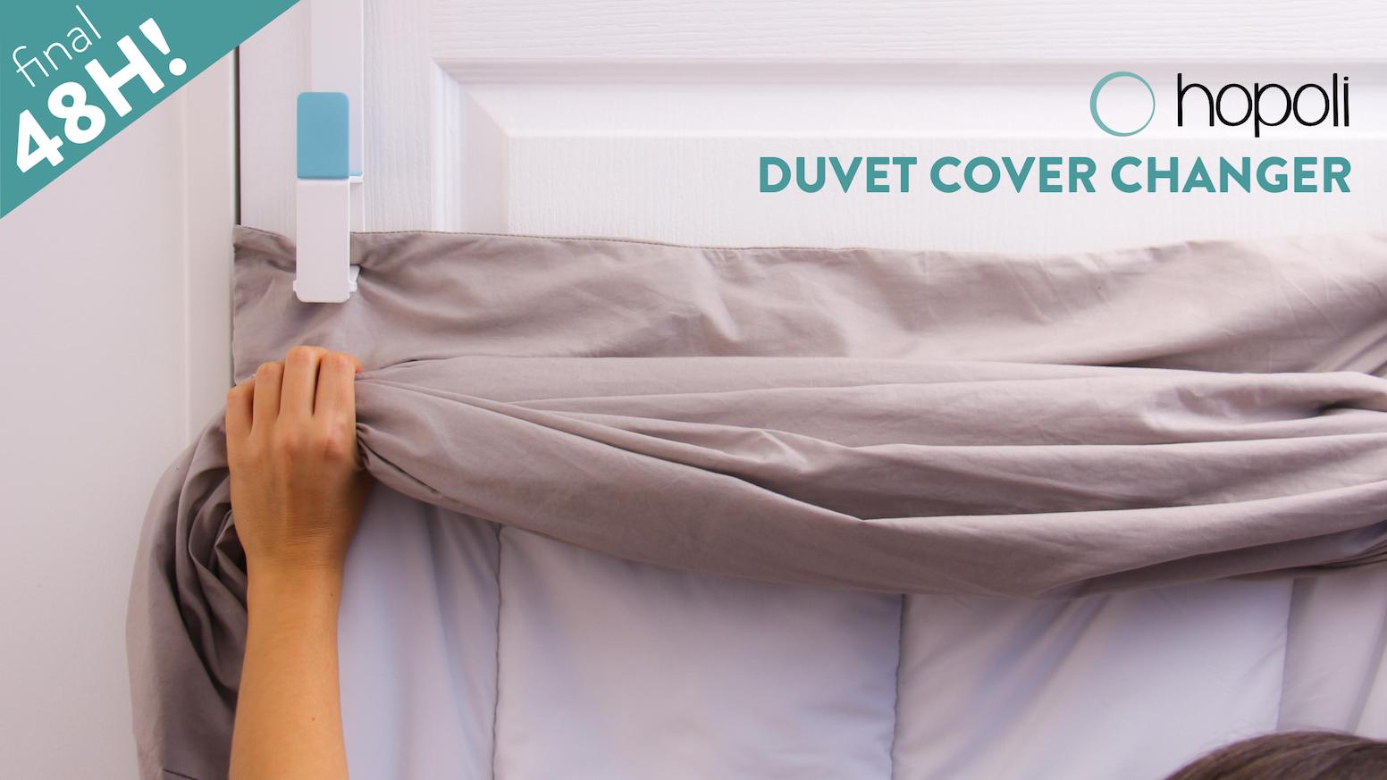 La première solution 3-en-1 pour changer les draps de lit