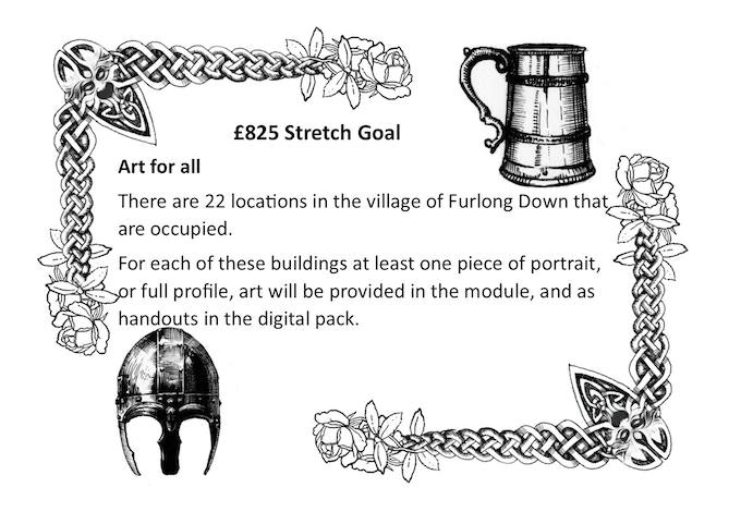 £825 stretch goal