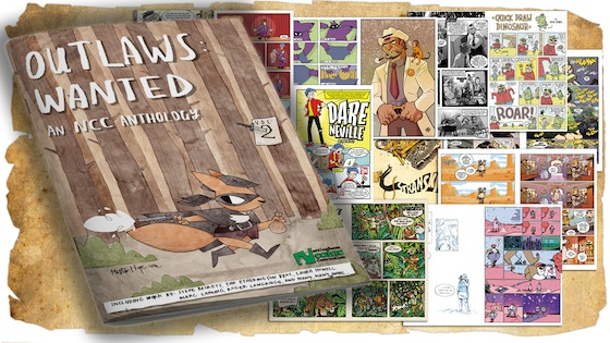 Nottingham Comic Con Anthology - Outlaws: Wanted