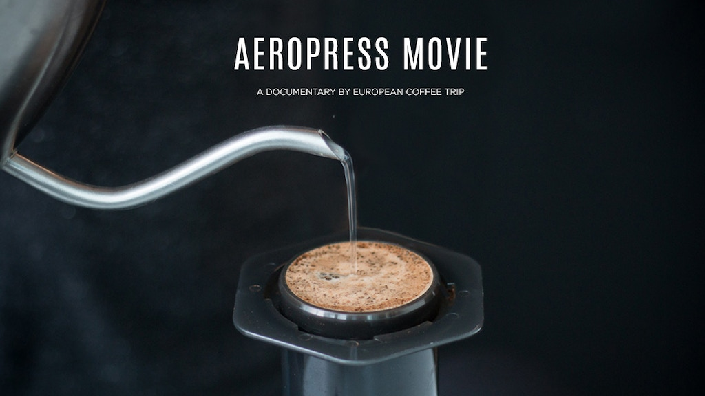 AEROPRESS MOVIE | A Story Of An Iconic Coffee Maker project video thumbnail