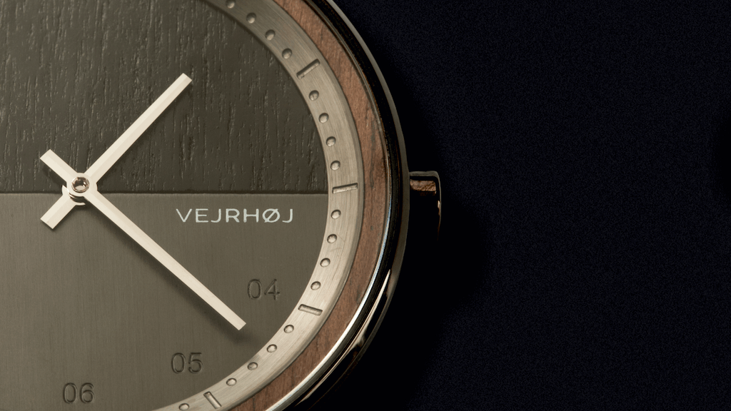 VEJRHØJ Watches - Nordic Watches, Crafted from Wood & Steel project video thumbnail
