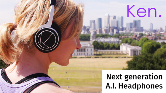 Ken: AI Headphones that learn how music makes you feel