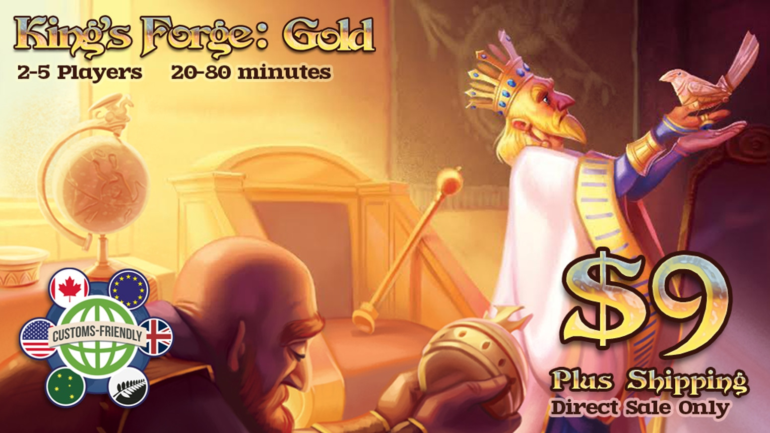 Prosperity flows through the realm—the smithies of King's Forge are all fired up for gold dice, new rules, and engaging scenarios!