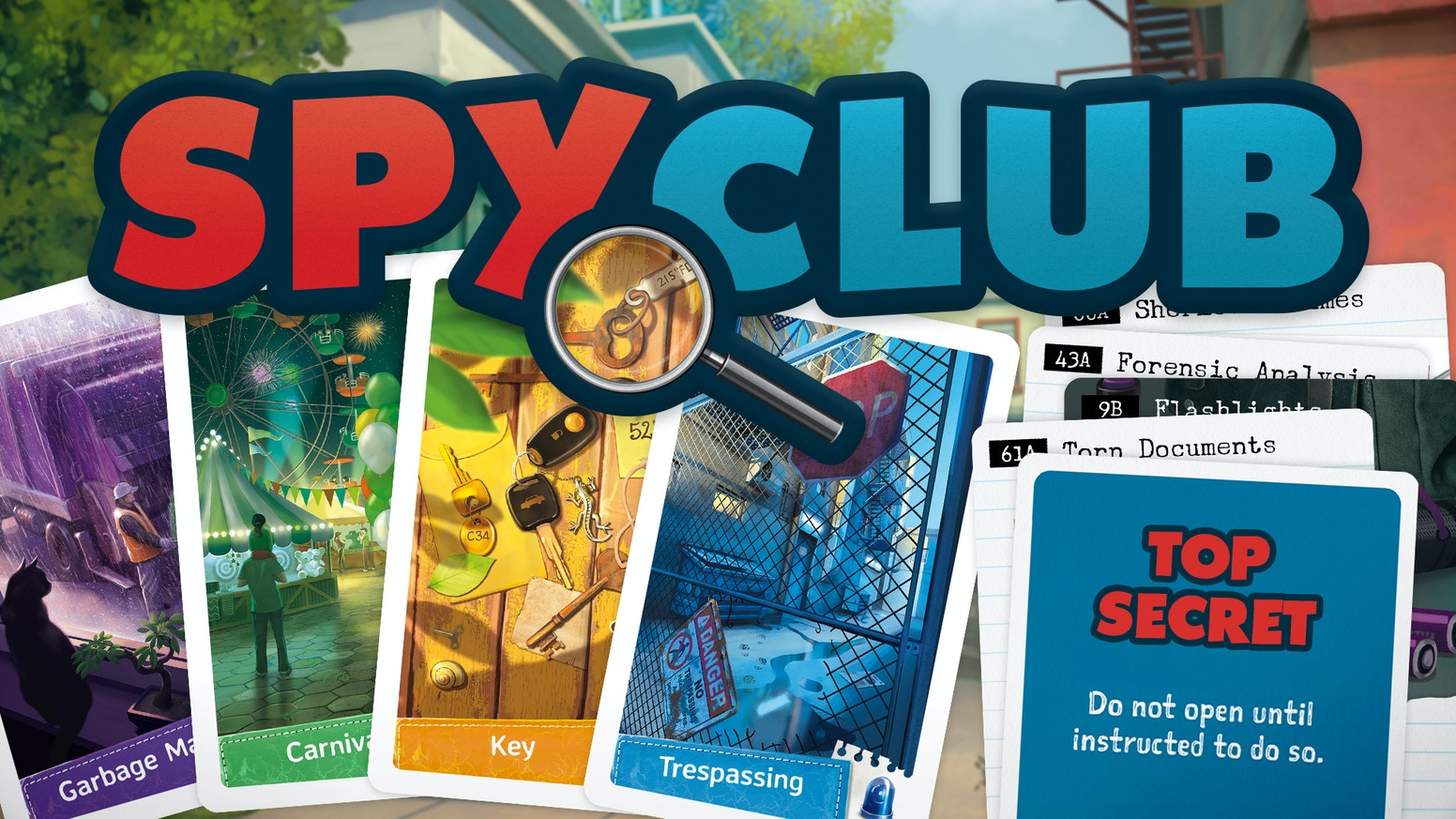 Find clues and catch the culprit like your favorite young detectives! Unlock new content that changes the game every time you play.