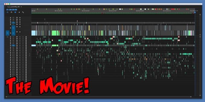 A screenshot of the 90 minute film.