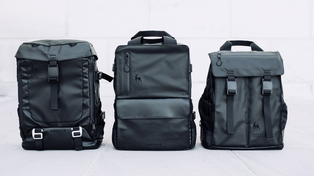 ea5ab62f29cf Brevitē  The Ultimate Travel and Commuter Backpack project video thumbnail