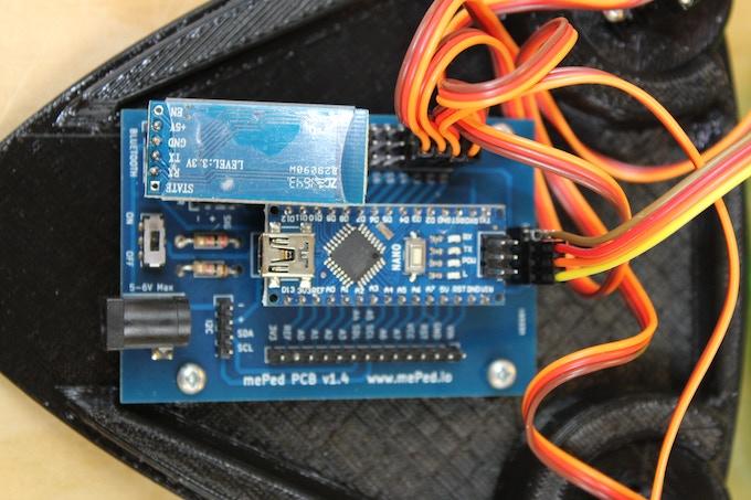 The Main Arduino PCB