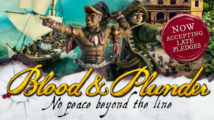 Dutch and Native Caribbean miniatures are going to join the most historical pirates tabletop miniature war game.