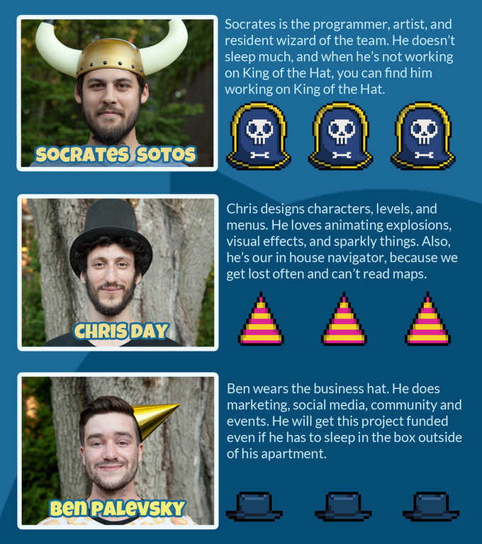 king of the hat by hyroglyphik games kickstarter