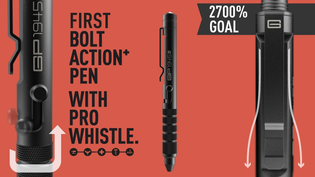 GP 1945 Bolt Action Plus Pen - Mark the End of World War II project video thumbnail
