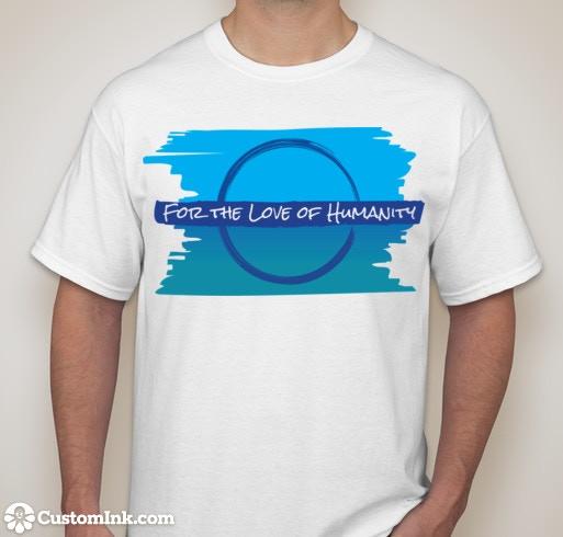 Sample of T-shirt Reward