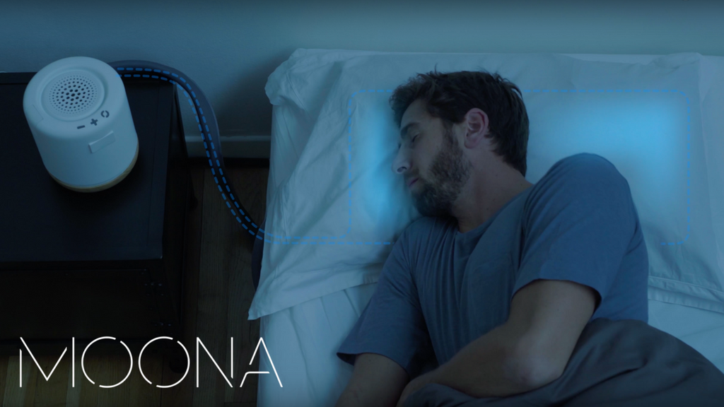 Moona - Pillow temperature regulation to improve sleep project video thumbnail