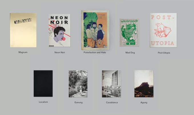 Rope press photo books, comics and art books