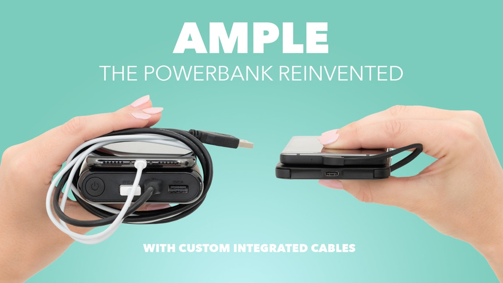 Ample: Ultraslim Powerbank with No Annoying External Cables project video thumbnail