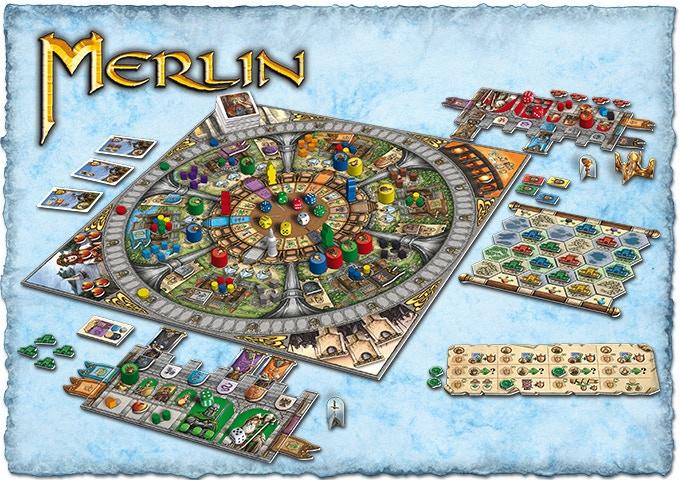 Image result for merlin board game
