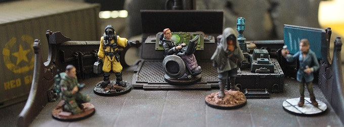 VIRAL OUTBREAK Miniatures by Not-So-Bored Games — Kickstarter
