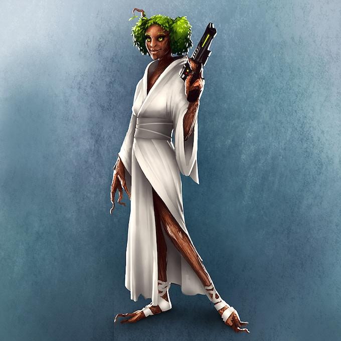 Princess Treeia Oregano Groundwalker