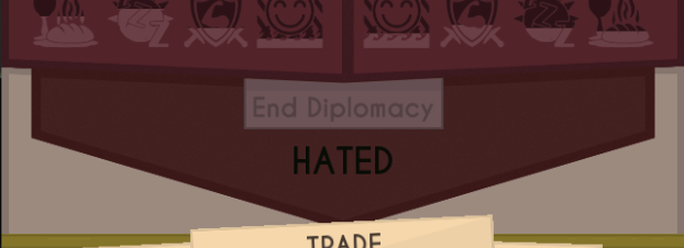 Diplomacy - Cities response to decisions