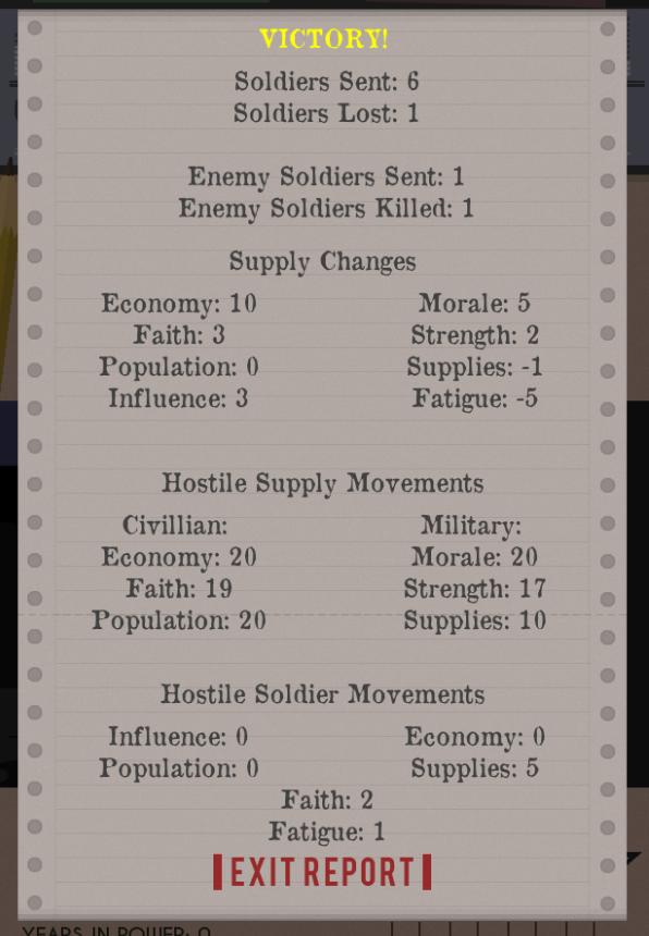 WAR! - Battle Report