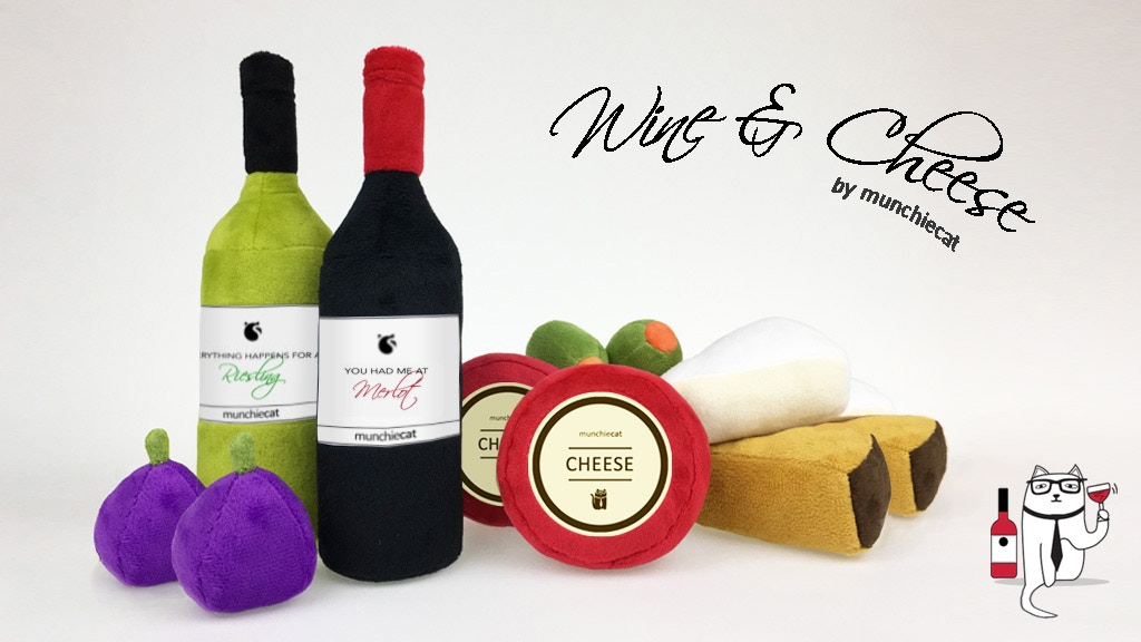 Catnip Wine & Cheese Toys + Olives & Figs   Cat Toys project video thumbnail