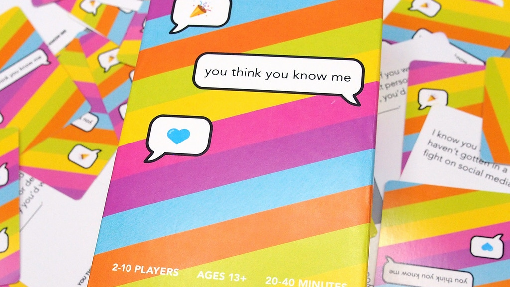 You Think You Know Me: A Conversational Card Game project video thumbnail