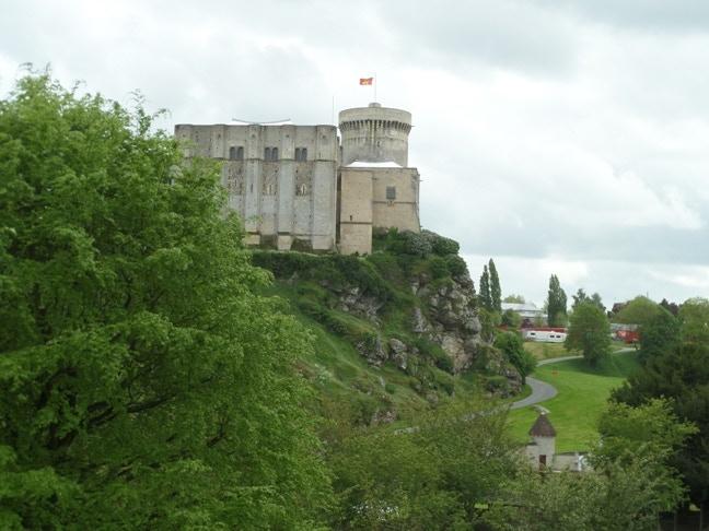 William's birthplace: Falaise Castle