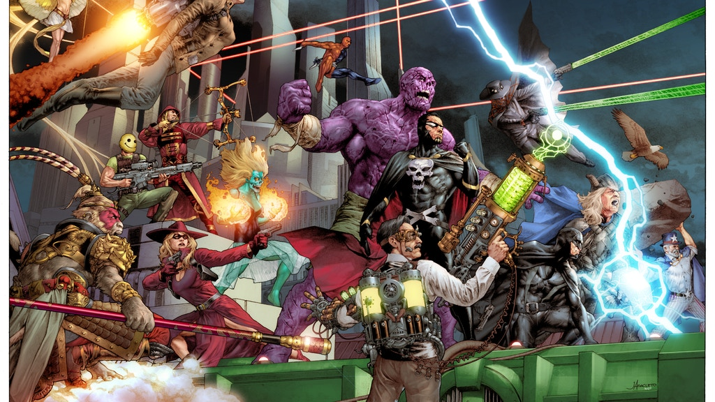 SUPERHERO: 2044 RPG project video thumbnail