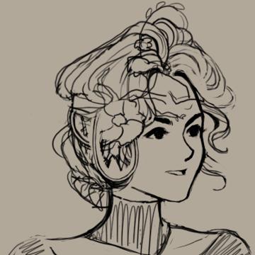 Queen Venezia Portrait Work-In-Progress