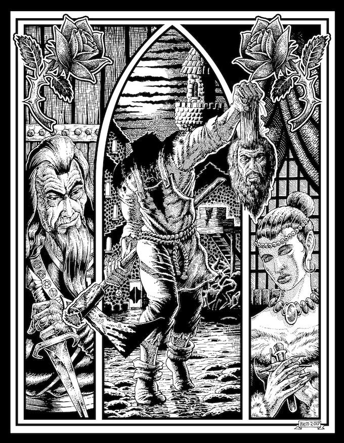 Brad McDevitt's illustration for Beyond the Block