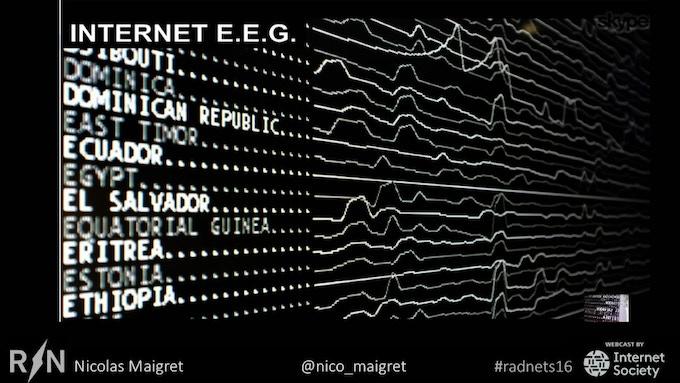Internet E.E.G. by Nicolas Maigret