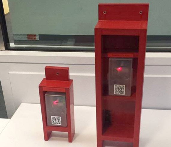 Signal Strength and the Community Phone Booth by Amelia Marzec