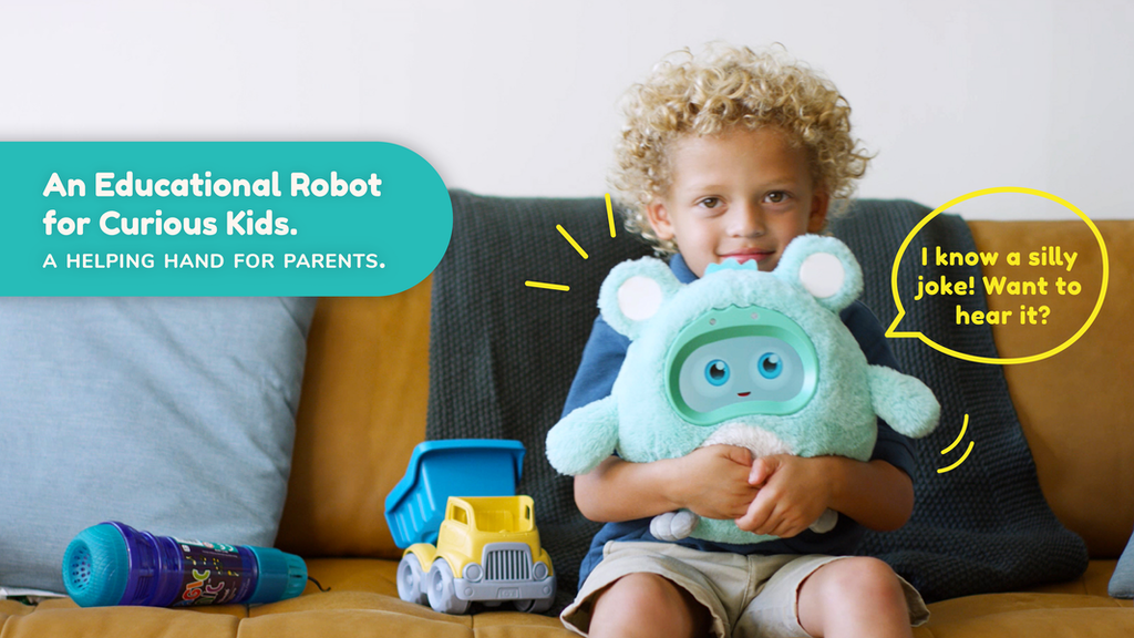 Woobo: The Talking Robot Inspiring Curious Kids to Explore project video thumbnail