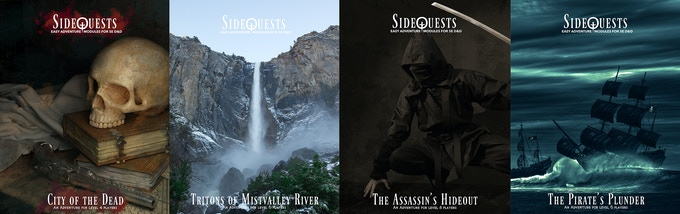SideQuests II: The Covers