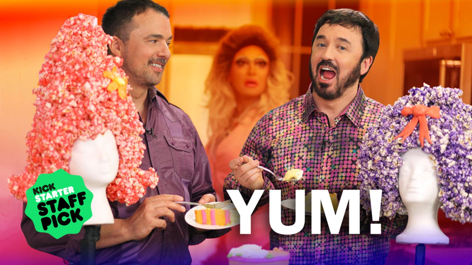 Donate $3 or more and hang out with your favorite drag queens in this tasty cooking show. Plus: a drag queen cooking competition.