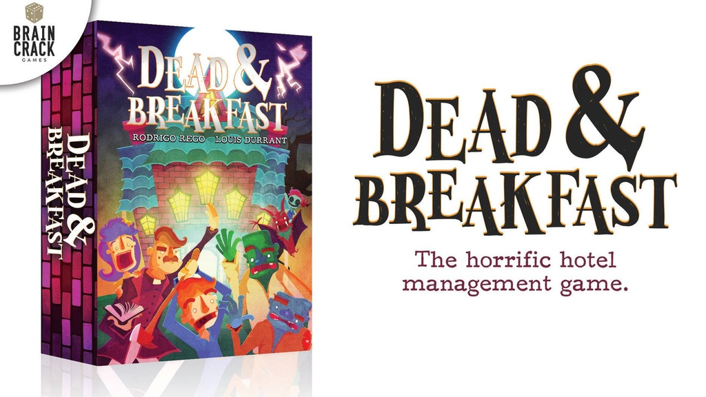 Dead & Breakfast - A Terrifying Tile-Laying Game project video thumbnail
