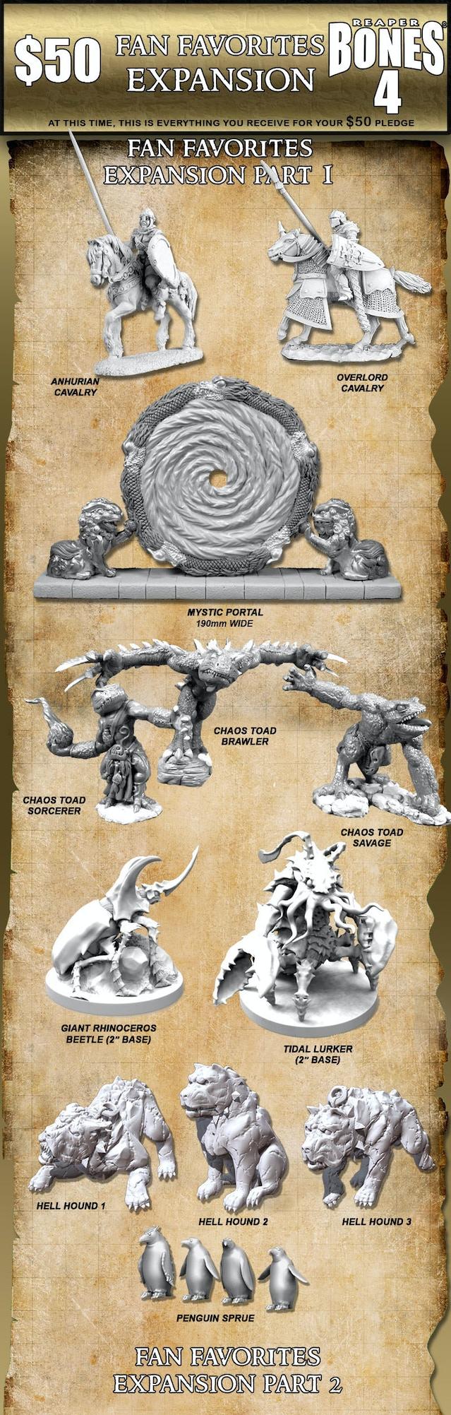 Reaper Miniatures Bones 4 Mr Bones Epic Adventure By