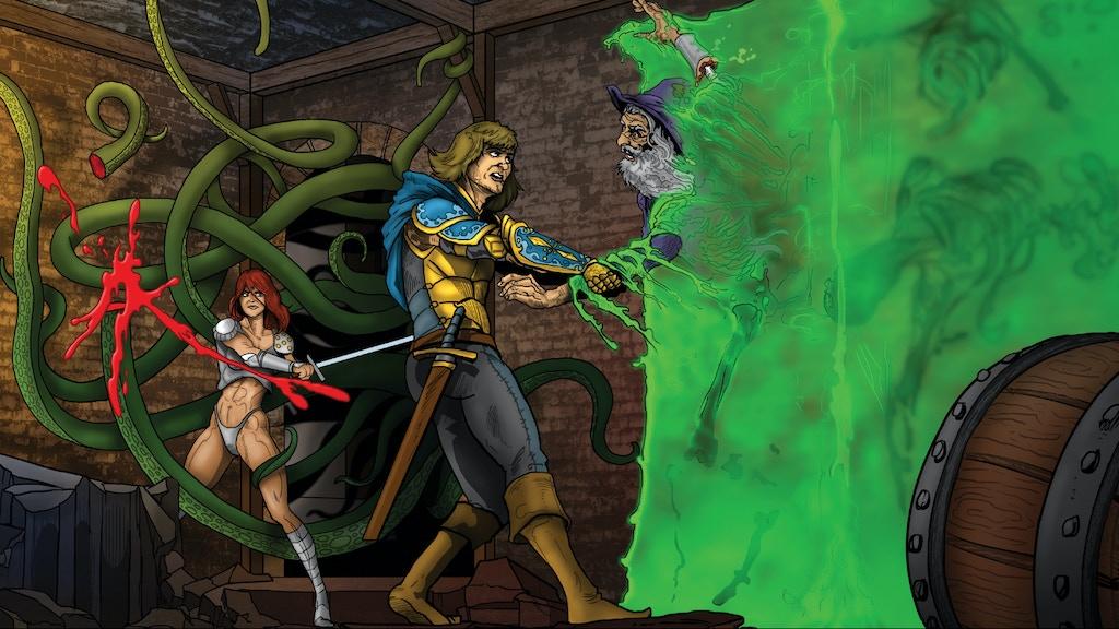Dark Wizard Games: Double Mayhem Adventures project video thumbnail