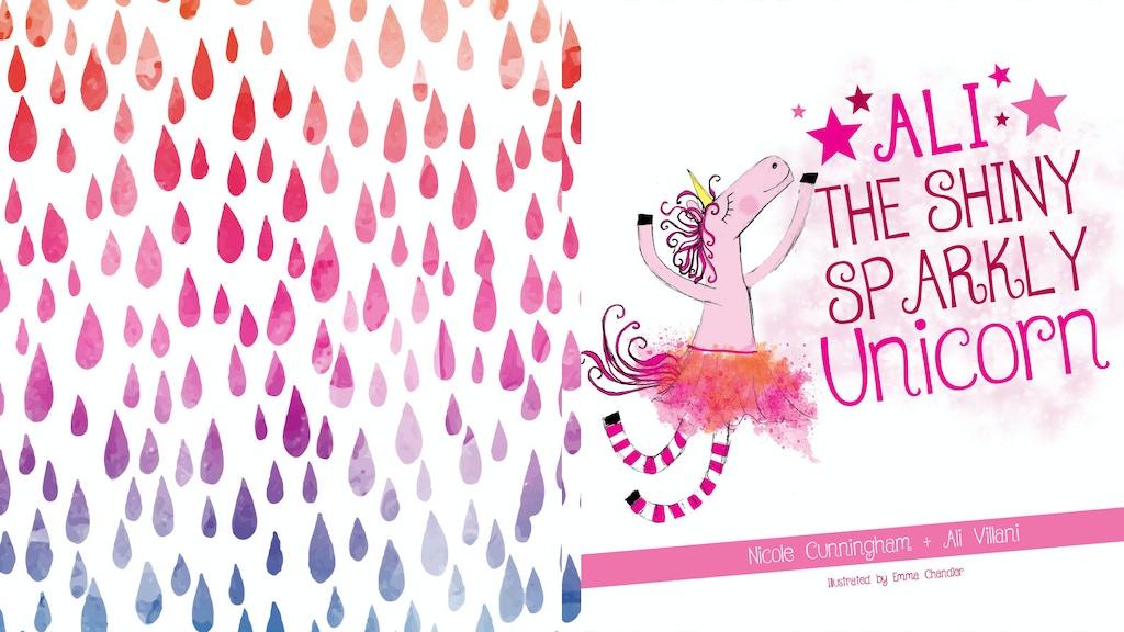 Ali The Shiny Sparkly Unicorn Children's Book project video thumbnail